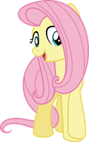 MLP Vector - Fluttershy #6 by jhayarr23