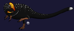 Sleeping Guanlong by StygimolochSpinifer