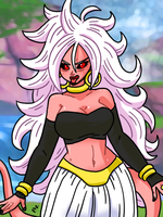 Dragon Ball FighterZ - Android 21 02 by theEyZmaster