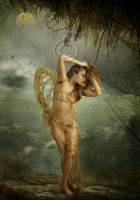 Angel in trouble by CindysArt