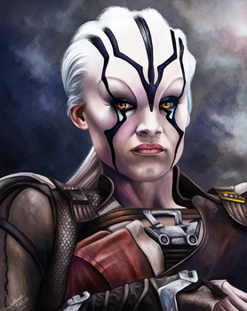 Jaylah Startrek Beyond by lara-cr