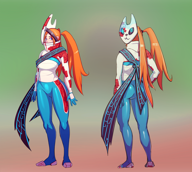 Character Concept art by MikeTheUser