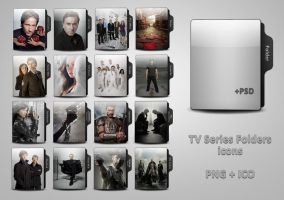 TV Series Folders. Part 2 by Liaher