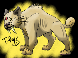 Persian- Smilodon Inspired by T-Reqs
