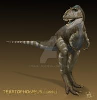 Teratophoneus curriei. by Frank-Lode