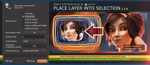 Place Layer into Selection by slybug