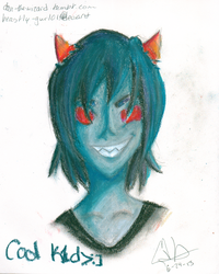 Oil Pastel Terezi by beastly-gurl01