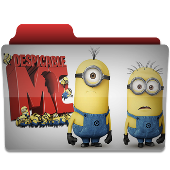 Despicable Me folder icon v4 by PanosEnglish