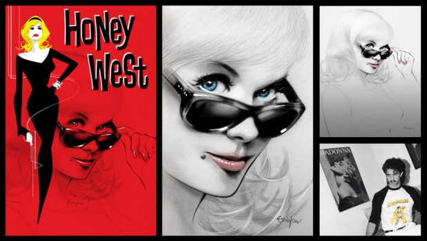 Honey West by Franchesco
