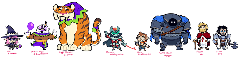 MY OPEN LEGEND GROUP by Cubesona