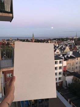 Blank Canvas - Full moon by PeteDamian