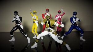 Power Rangers Legacy Collection - S2 MMPR by ULTIMATEbudokai3
