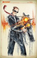 Agent Coulson Saucy by RobDuenas