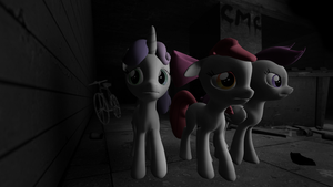 Second SFM try - CMC in the town 3 by Marcsello