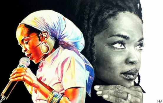 Lauryn Hill by TheCharlieBrowniest