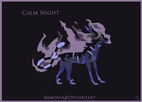 Holiday Zippurrcat: Calm Night [CLOSED] by Immonia