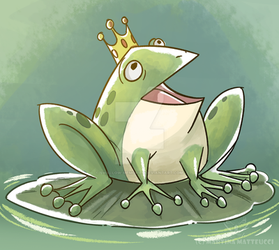 .: Prince Frog :. by Swallow-Memories