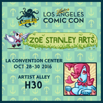 Table H30 Stan Lee's LA Comic Con by ZoeStanleyArts