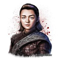 [Game of Thrones]Arya Stark of Winterfell by yagihikaru