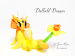 Daffodil dragon by rosepeonie