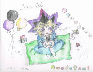 June 4th...for my little one...advance gift :) by YuGiOh4Ever