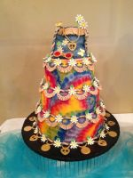 60's Hippy Cake by The-EvIl-Plankton