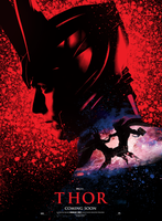 Thor Poster - Struzan style by hobo95