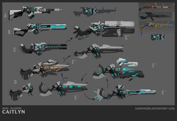 PF Caitlyn - Weapon Concept by sunnykoda