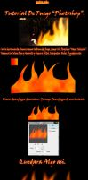 Tutorial De Fuego (Photoshop). by llSwaggerll