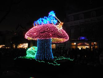 Main Street Electrical Parade: Who Are You? by FlowerPhantom