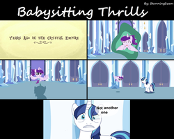 Babysitting Thrills 5/7 by StunningSwan