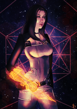 Mass Effect - Miranda Lawson by AredheelMahariel