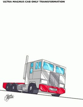 Ultra Magnus cab only by GuidoGuidi