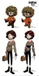 @Kuzma started following you, characters concepts by ValentrisRRock