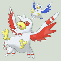 Fakemon Heregrin by mssingno