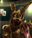 Springtrap by Kana-The-Drifter