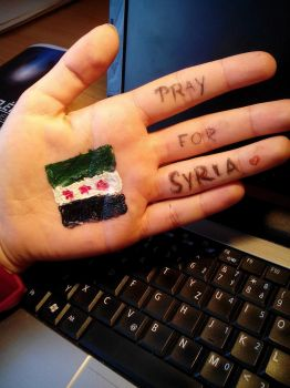 TAG - Pray for Syria by LittleBadPrincess