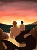 Free!: Sunset with You by Tishawish