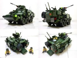 Lego Infantry Carrier 2 by SOS101