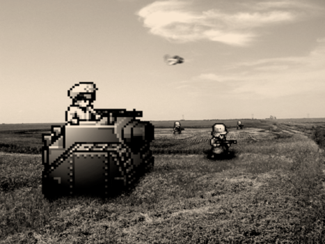 Retro Old War 'Advance Wars' by RETROnoob