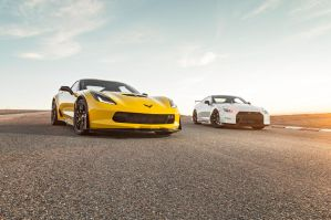 The Z06 And The Nismo by NissanGTRNismo