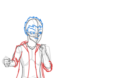 [WIP] Eric Punch (ROUGH STAGE) by Its-Joe-Time