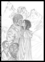 Happily ever after...or almost: pencil version B.I by middaschronicles