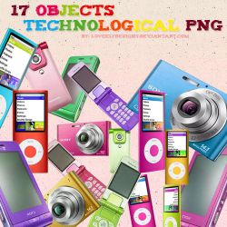 17 Objects Png by loveelydesigns