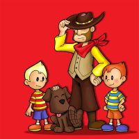 EARTHBOUND 2 _Mother 3 cast by FlintofMother3