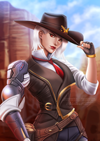 Ashe | Overwatch by DivineImmortality