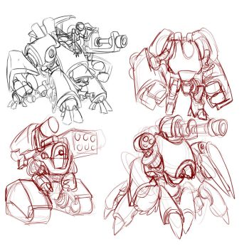 mechscribbles by imric1251