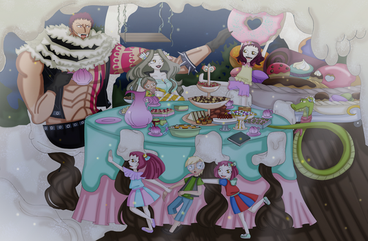 Family Reunion II - Tea Party by Chaoussu