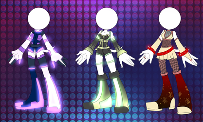 Outfit Adoptables 2 CLOSED by Attack-On-Adopts