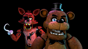 Freddy and Foxy by Detective-Puppet